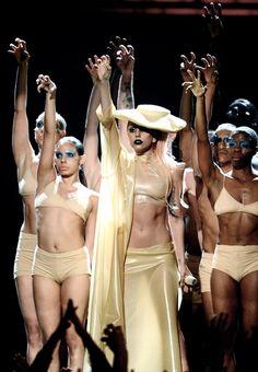 Lady Gagas Grammy Twitpics