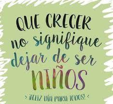 FELÍZ DÍA DEL NIÑ@ QUE DÍOS LOS PROTEJA Y LLENE DE BENDICIONES EN ESTE DÍA Y SIEMPRE A TODAS ESAS HERMOSOS ANGELITOS QUE DÍOS PUSO EN NUESTRA VIDA A NUESTR@S HIJ@S, SOBRINOS,NIET@S Y AMIGUIT@S UN FUERTE ABRAZO QUE DIOS ILUMINE SIEMPRE EN SUS ROSTROS UNA SONRISA...❤️  MIGUEL ÁNGEL GARCÍA.