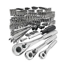 200-pc Mechanics Tool Set - $180 -  often on sale - I don't have any automotive tools, and should have some basics.