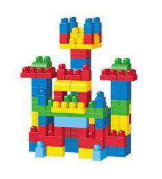 Mega Bloks #FirstBuilders #DeluxeBag #LargeBuildingBlocks #PrimaryColors New  #MegaBloks