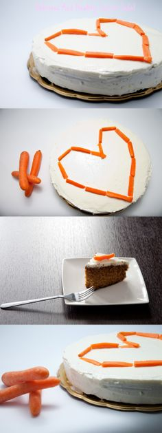 Hi, today I want t o share with you my attempt to make a decent cake. I remember the first time I've heard of the Carrot cake I was surprised at how delicious i