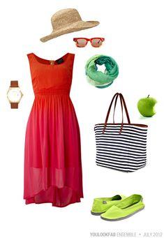Summer Dress Ensemble