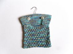 Blue Cotton Peg Bag  spring clean  hanging by TheFeminineTouch, £25.00