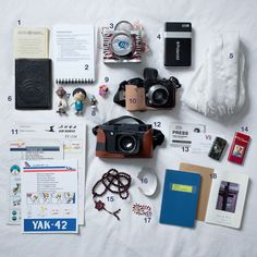 What a National Geographic photographer carries in his backpack: Tomas van Houtryve's artifacts.