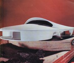 RNDRD is a frequently-updated partial index of architectural drawings and models scanned from design publications throughout the century. Round Building, Building A House, Space Architecture, Amazing Architecture, Photo Composition, Interesting Buildings, Atomic Age, Architectural Models, Architectural Drawings