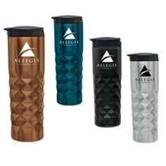 Diamond Textured Stainless Steel Tumbler #reusable #stainlesssteel #ecofriendly #promotionalproduct