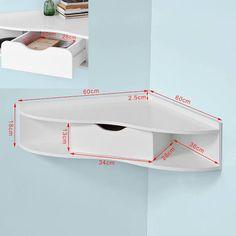 triangular corner desk