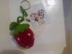 Frutilla crochet
