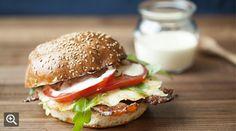 Kitchen 208's Cobblestone Breakfast sandwich