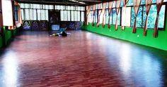 Our Yoga Hall in Rishikesh