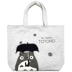 TOTE BAG (M)  W44 x H38 - JAPANESE SAGARA EMBROIDERY - Sun Arrow - Totoro…