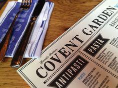Os fabulosos restaurantes de Jamie Oliver - Jamie's Italian em Covent Garden