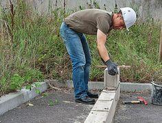 Parpaing : construire un muret