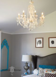 crystal chandelier  DIY'S FOR SEVERAL FIXTURES