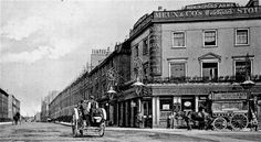 From my collection of old pub photos. Check out my new website The History of Yeovil's Pubs - the town with over 100 pubs! Vintage London, Old London, Old Pub, Local Pubs, London Photos, My Collection, 19th Century, Street View, Park