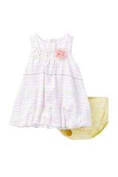 Dress & Bloomer Set (Baby Girls) by Petit Lem on @nordstrom_rack