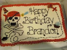 Pirate Cupcake Cake by Baked All Night, via Flickr