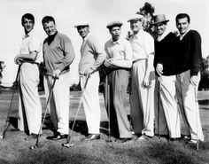 Dean Martin Ben Hogan Jerry Lewis & Sam Snead Golf Print 11 x 14  #3371