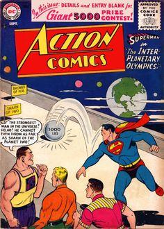 Action Comics 220 Superman Comic Cover hi-res