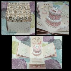 Exploding birthday box card
