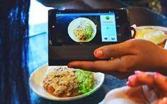3D τεχνολογία για smartphone μετράει τις θερμίδες στο φαγητό.