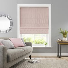 Grey Roman Blinds, Blackout Roman Blinds, Roman Shades, Blackout Curtains, Bedroom Blinds, Curtains With Blinds, Window Blinds, Modern Window Treatments, Blinde