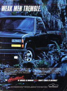 1990 Chevrolet Chevy 454 SS Pick Up Truck Page 2 USA Original Magazine Advertisement Chevy Pickup Trucks, Gm Trucks, Chevy Pickups, Cool Trucks, Chevrolet Usa, Classic Chevrolet, Chevrolet Trucks, 454 Ss Truck, Chevy Silverado Ss