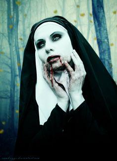 DeviantArt: More Like Vampire Beauty XI by SamBriggs Arte Horror, Horror Art, Horror Photography, Vampire Queen, Dark And Twisted, Bad Habits, Dark Beauty, Pastel Goth, Dark Fantasy