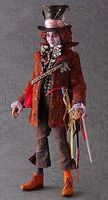 RAH Toys Johnny Depp as the Mad Hatter