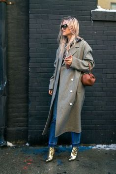 Bundle up in style: the best street style fashion moments spotted at New York Fashion Week.