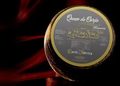 Diseño de etiquetas de producto... Etiqueta de queso de oveja.