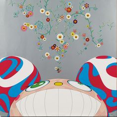 An artist who works in fine arts media, Takashi Murakami is known for blurring the line between high and low arts while representing the Japanese culture. Superflat, Japanese Art Modern, Japanese Artists, Japanese Culture, Takashi Murakami Prints, Murakami Artist, Murakami Flower, Jeff Koons, Art Japonais