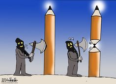 Cari-cature. by Hassan Bleibel - Liban #JeSuisCharlie