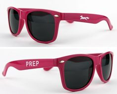 Show your prep colors. Limited Edition Country Club Prep Sunglasses in Pink    http://www.countryclubprep.com/limited-edition-country-club-prep-longshanks-prep-sunglasses-in-pink.html