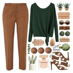 """""""Green Goblin"""" by fee4fashion ❤ liked on Polyvore featuring Narciso Rodriguez, rag & bone, MANGO, Wildfox, beautyblender, Linum Home Textiles, Allstate Floral, NDI, 3.1 Phillip Lim and H&M"""