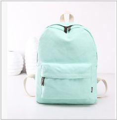 Backpacks Rucksacks Preppy Soft Big School