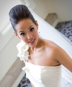 Stylish Updos for Your Wedding-Day Hairstyle Hair Dos For Wedding, Wedding Stuff, Dream Wedding, Wedding Day, Classic Updo, Bridal Updo, Wedding Hair Accessories, Dream Dress, Updos