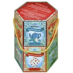 Bentley's Classic Holiday 12 Teas of Christmas Collection of Premium Teas, Assorted Gift Pack, 96-Count Tea Bags