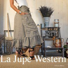 Jupe Western Isabelle et Sebastien Artisan Couturier
