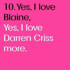 yep. #darrencriss