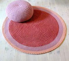 Round Rug floor crochet