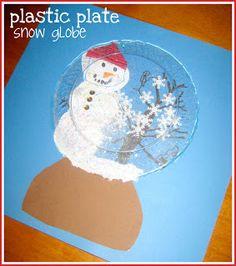 Winter DIY- make your own snow globe
