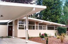 Mid-Century Modern Freak — c. Early 1950s Mid-Century Modern Ranch |...