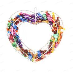 Heart decorative fra