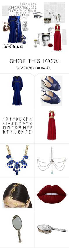 """""""BBC Merlin Inspired"""" by divergentangel01 ❤ liked on Polyvore featuring Andrew Gn, Chelsea Crew, Forever 21, AURA Headpieces, Lime Crime and CO"""