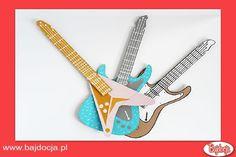 W ten oto szybko sposób zabawka dla Twojej małej gwiazdy rocka jest gotowa. #dziecko #zabawka #homemade #bajdocja #diy #zróbtosam #gitara
