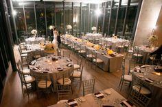 Beautiful reception space at the Gardiner Museum. #toronto #torontowedding #torontoweddingplanner www.fusion-events.ca Place Settings, Table Settings, Museum Wedding, Table Scapes, Toronto Wedding, Wedding Planner, Reception, Events, Space