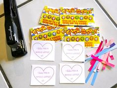 I like you a whole lotto - printable valentine for teachers