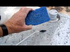 RV Detailing Tips: How to clean the roof on your RV - YouTube