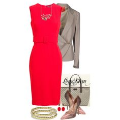 A fashion look from March 2014 featuring Alexander McQueen dresses, Vivienne Westwood Red Label blazers y Jean-Michel Cazabat pumps. Browse and shop related looks.